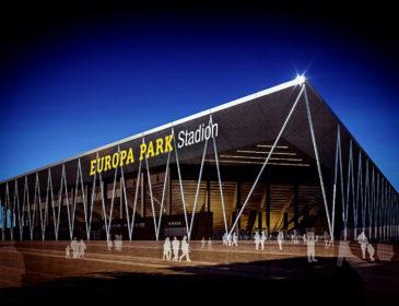 Der Europa-Park ist Namensgeber für die neue Heimat des SC Freiburg