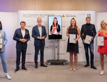 Kitesurferin Leonie Meyer ist Sport-Stipendiatin des Jahres 2021