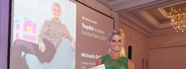 Europa-Park-Hotels: Hoteldirektorin Michaela Doll-Lämmer gehört zu den TOP 50 Hotelières