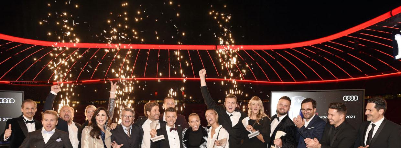 Verleihung 14. Audi Generation Award in der Münchner Allianz Arena